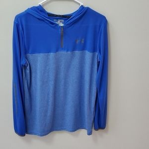 Under Armour Loose LS Tee w/ Hood Youth XL